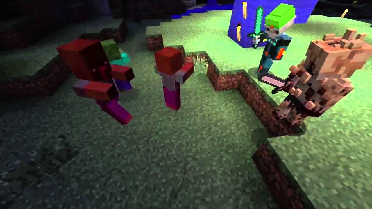 Minecraft Ps Trailer