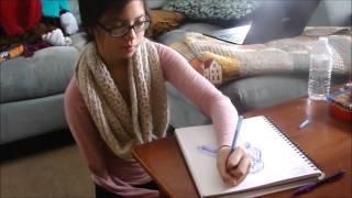 """Natural High Video, Maria Urriza """"Drawing"""""""