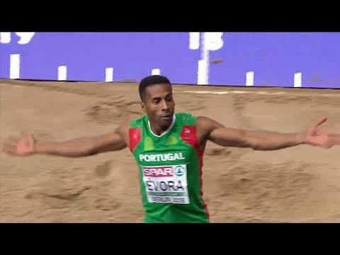Nélson Évora brilha nos Europeus de Atletismo de Berlim