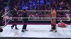 Randy Orton Saves Sin Cara from Alberto Del Rio And Prime Time Players