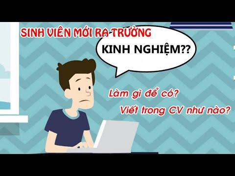 SV mới ra trường viết KINH NGHIỆM trong CV ntn? Làm gì để có từ 2 năm KN khi vừa tốt nghiệp? | Foci