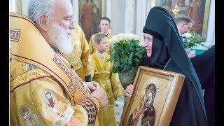 Поздравление гостей и настоятельниц  Белорусских  монастырей митрополита Павла с днем Тезоименитства