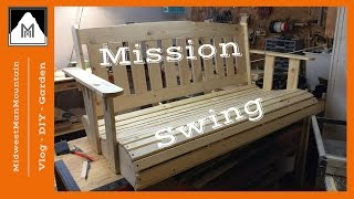 How to Build a Mission Style Porch Swing