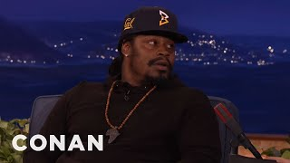 Marshawn Lynch On The Colin Kaepernick Controversy  - CONAN on TBS