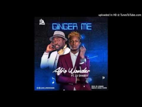 Afro Wonder – Ginger Me ft. DJ Shabsy (OFFICIAL AUDIO 2017)