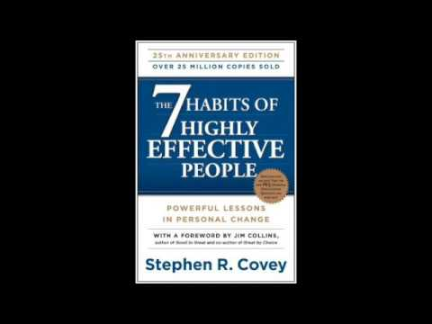 The 7 Habits Of Highly Effective People Audiobook Summary Youtube
