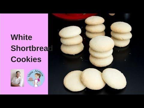 BEST White Shortbread Cookies Recipe