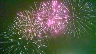 Новый год Самара 1.01.2017, салют площадь Куйбышева, новогодняя ночь в Самаре