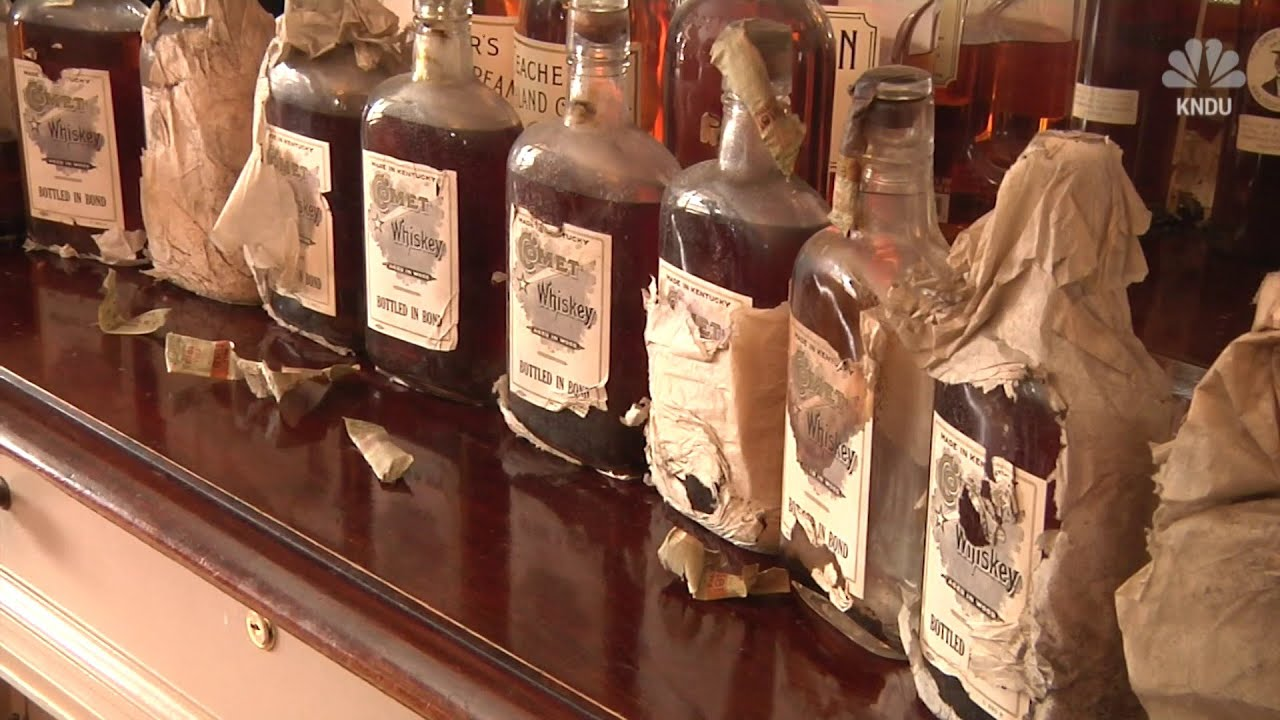Men Find Prohibition Era Whiskey Hidden In House Walls During Renovation Youtube