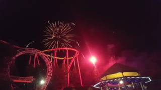 4th of July 2016 at six flags magic mountain