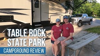 Table Rock State Pąrk Campground Review // Table Rock State Park // Branson, MO [EP 9]