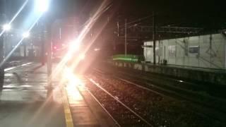クルージングトレインななつ星in九州長崎駅到着 28.11.26