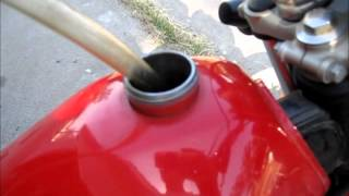 How To Siphon Gas Out Of A Motorcycle Without Getting A Mouthful!