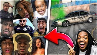 SURPRISING MY FRIENDS WITH MY NEW CAR!! (Gone Wrong!)