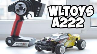 Машинка на радиоуправлении Wltoys A222. Распаковка и обзор