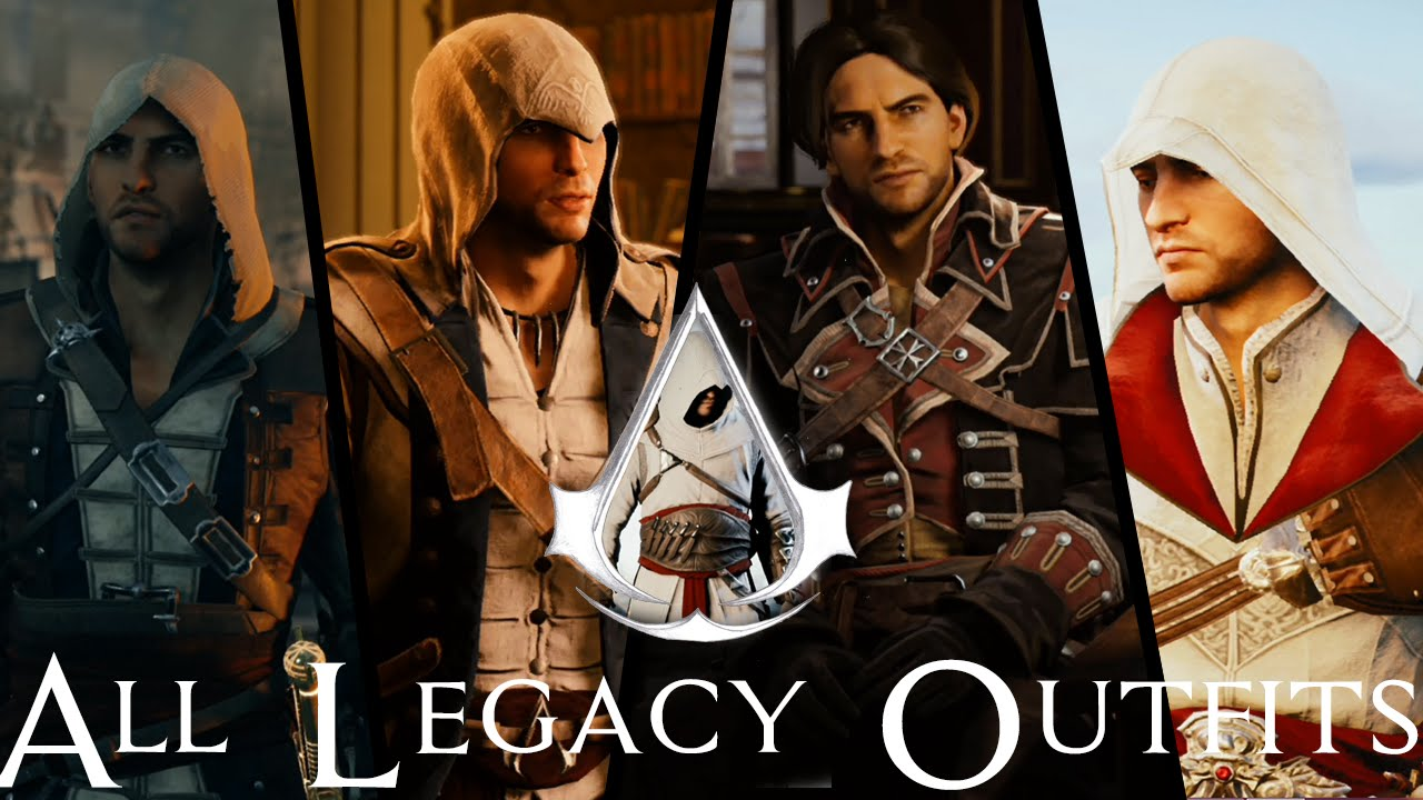 Assassin S Creed Unity How To Get All The Legacy Outfits Youtube