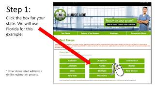 Online CNA Test Registration for Florida