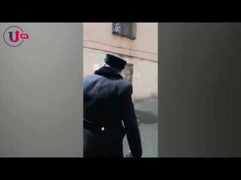 Arif Quliyev polisə yaşını səhv dedi, evinə belə aparıldı - VİDEO
