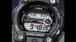 Casio G-Shock Rescue GW-7900-1ER Multiband 6 Tough Solar