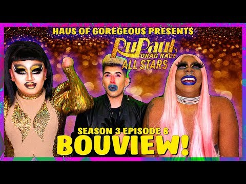BOUview: Rupaul's Drag Race All Stars 3 Episode 8 with Kendra Onixxx, Gia Ferrari, and David Ray