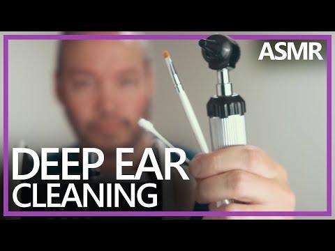 Deep Ear Cleaning - Q-tips, Brush, Otoscope (ASMR, 4K60)