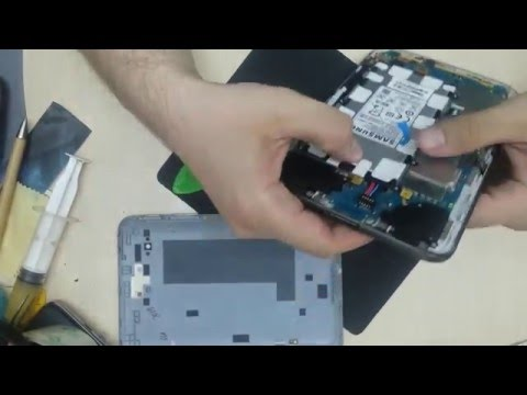 Tableta Samsung Galaxy Tab 2 P3100 Disassembly & Assembly - Repair