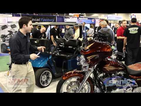 NEW Kicker Power Sports for Harley Davidson & Golf Carts SEMA 2011