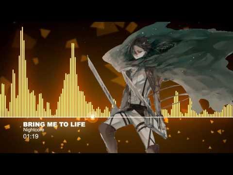 ♫【Nightcore】- Bring me to life