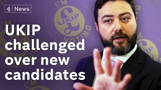 Ukip launch EU election campaign amid candidate controversy