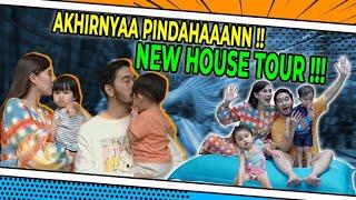 NEW HOUSE TOUR!! AKHIRNYA PINDAHAAAAAAN!!