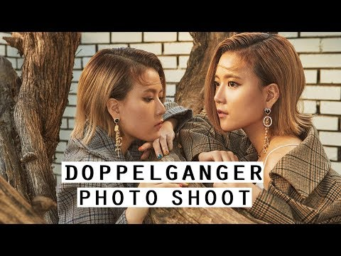 Doppelgänger Concept Photoshoot With SEOUL LIFE | Q2HAN x Wonder Mag