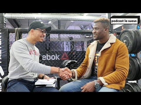 Interview Francis Ngannou UFC 220 - Podcast La Sueur