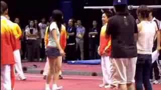 奧運精英匯香江中國金牌運動員男女子體操與市民同樂