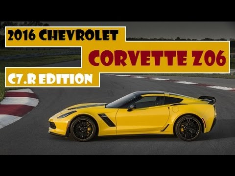 2016 Chevrolet Corvette Z06 C7r Edition Limited To Just 500 Copies