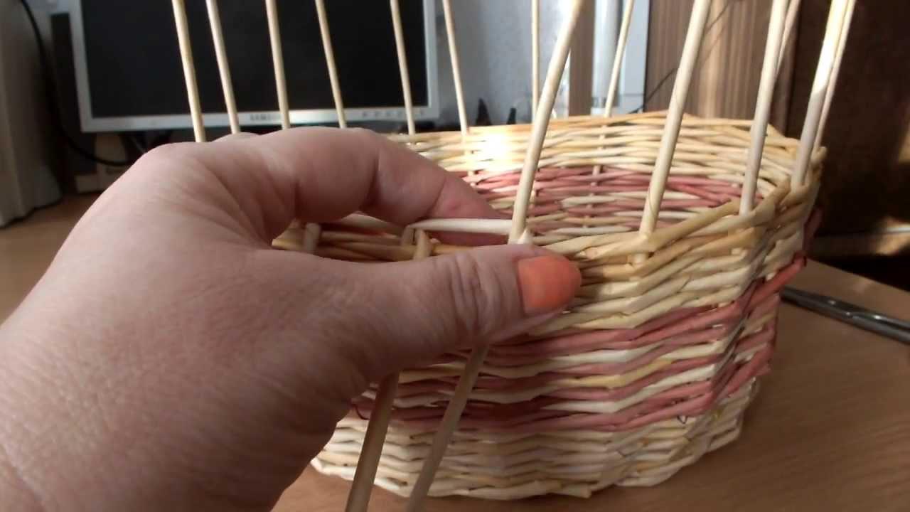 Мастер классы по плетению загибки из газетных