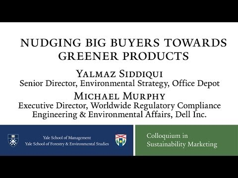 Nudging Big Buyers Towards Greener Products