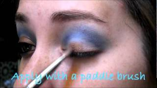 "Harry Potter Series: ""Ravenclaw Inspired Eyeshadow tutorial"" Thumbnail"