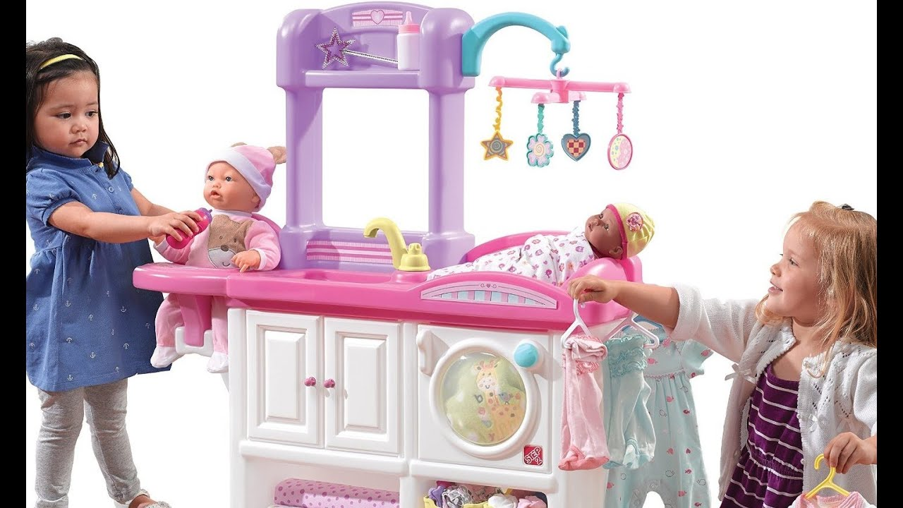 Doll Toys In Amazon Baby Doll Nursery Care Toy Set Playing Kids Fun Black Friday Amazon 2016