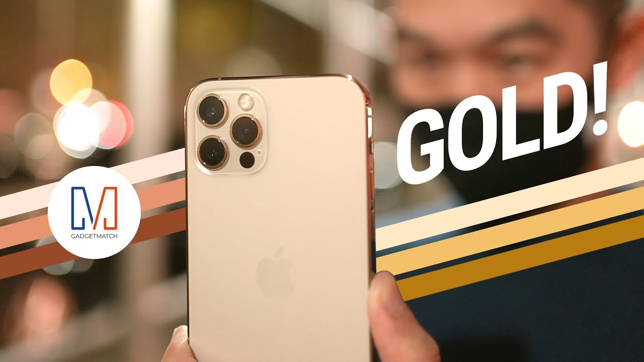 GOLD iPhone 12 Pro Unboxing! Unlike the Others?