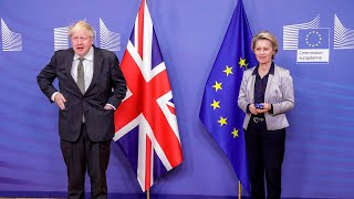 video: Brexit deal: Decision by Sunday but 'very large gaps remain' after Brussels dinner