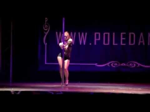 Maddie sparkle 2nd place miss pole dance australia 2015 2016 - 5 7