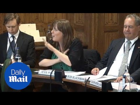 MP Jess Phillips laughs at men's rights debate request - Daily Mail