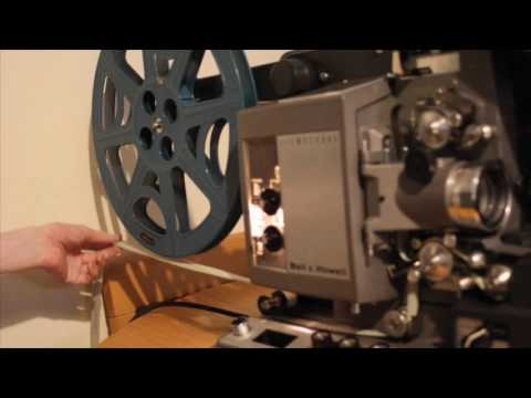 Bell & Howell 16mm Projector Operation