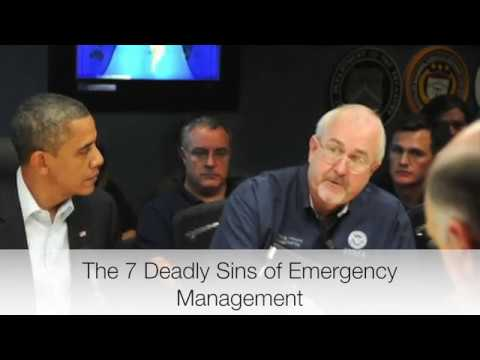 The 7 Deadly Sins of Emergency Management