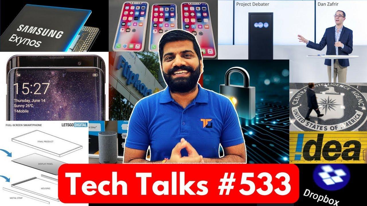 Tech Talks #533 - Oppo Find X, Fake News India, Idea VoLTE, E-Textile, 2018 iPhone, Samsung GPU