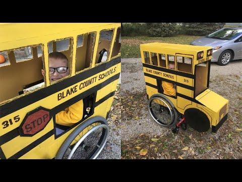 Jason Carr - Good News: Wheelchair-Bound Boy Gets Custom Halloween Costume