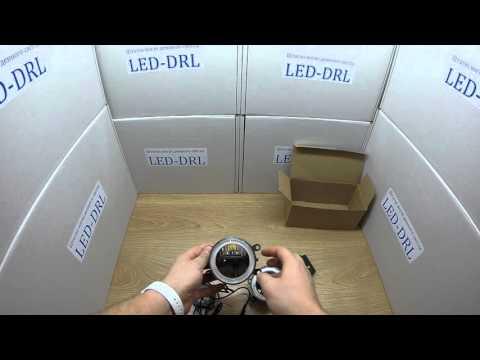 Cветодиодные противотуманные фары с DRL для Nissan, Infiniti, Mitsubishi, Land Rover, Ford