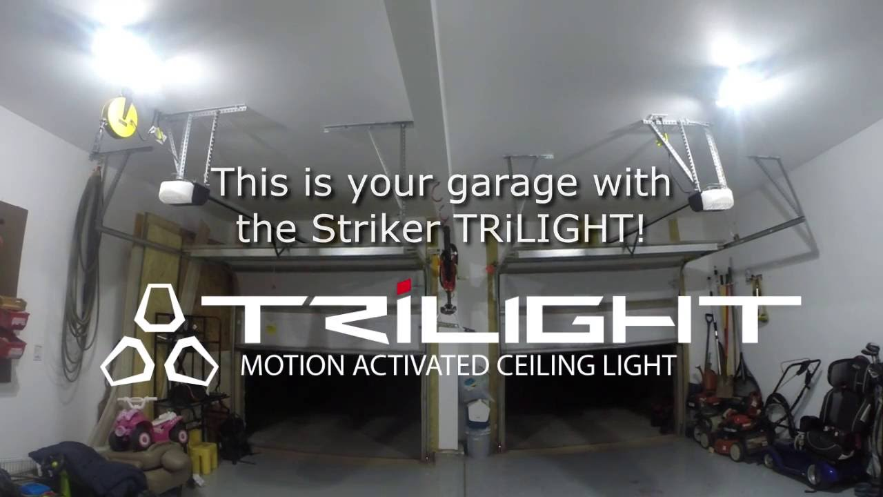 Motion sensing led garage light on kickstarter digital trends