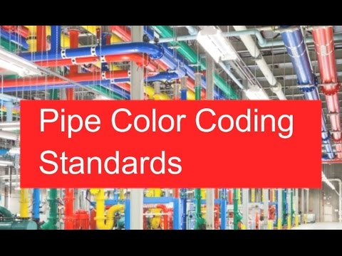 Pipe Color Coding Standards | ASME | ANSI | Piping Official