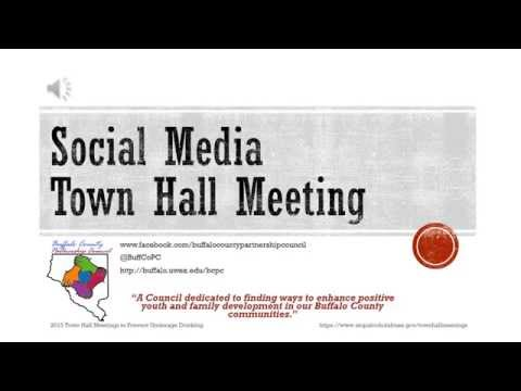 2015 Buffalo County Partnership Council Town Hall Meeting